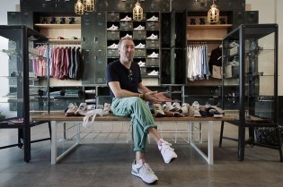 "Turning Reebok ""Outside-In"" with Ian Paley of Garbstore"