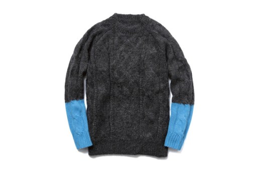 uniform experiment 2013 Fall/Winter Fisherman Crew Neck Knit