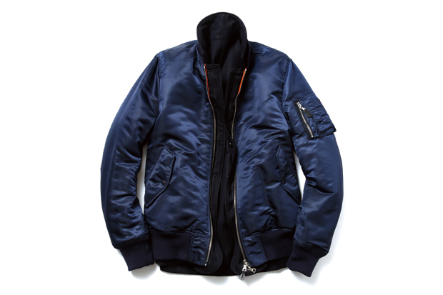 uniform experiment Reversible MA-1 Blouson