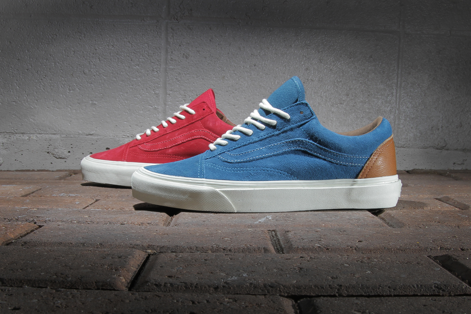 "Vans California 2013 Fall Old Skool CA ""2 Tone"" Pack"