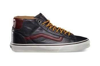 Vans California 2013 Fall Mid Skool 77 CA Pebble Leather Pack