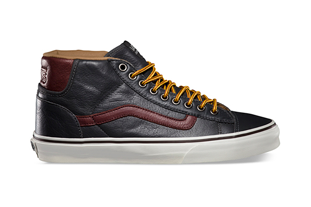 Vans California 2013 Fall Mid Skool 77 CA Pebble Leather Pack