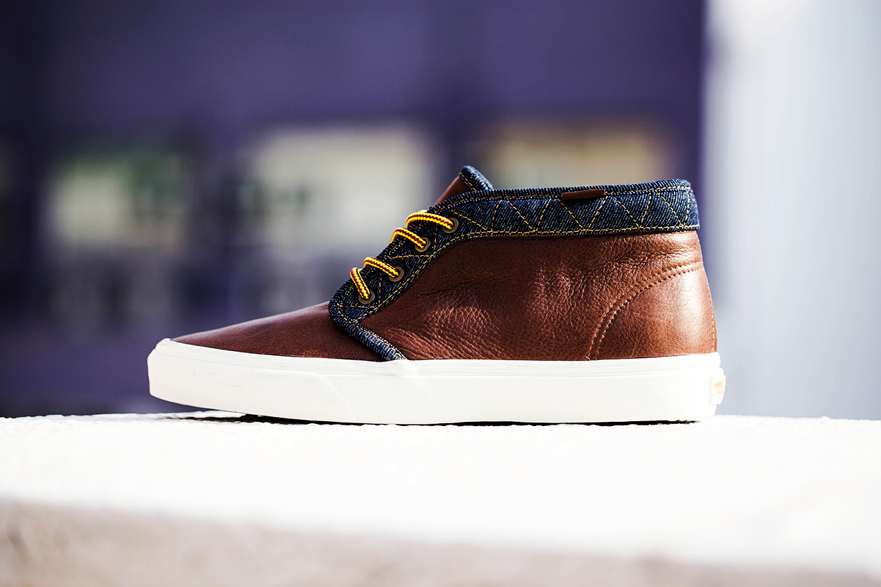 "Vans California 2013 Holiday Chukka Boot CA ""Leather & Denim"" Pack"