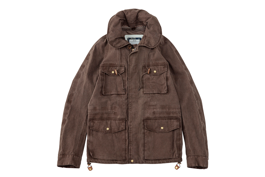 visvim PFD JKT 3L GORE-TEX (NATURAL DYE) *F.I.L. EXCLUSIVE