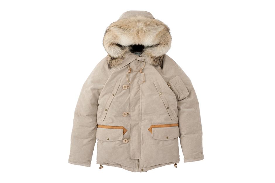 visvim valdez down jacket 2l gore tex