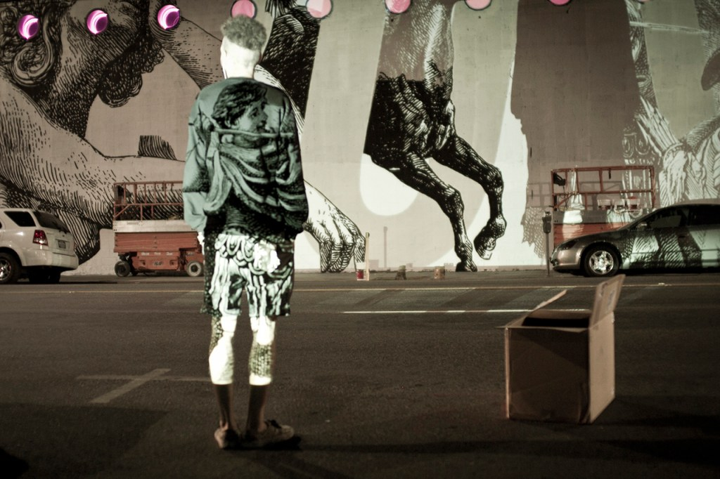 Woodkid and CYRCLE. Collaborate On Los Angeles Mural