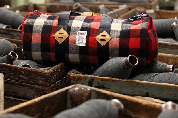 Woolrich Woolen Mills x Topo Designs Bag Collection