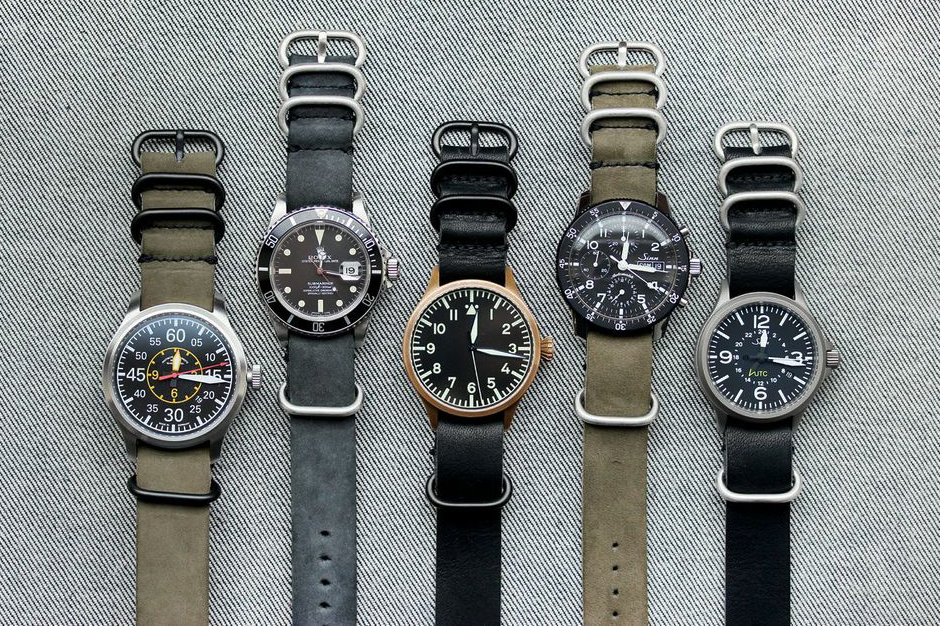 wornwound horween leather nyc nato watch straps