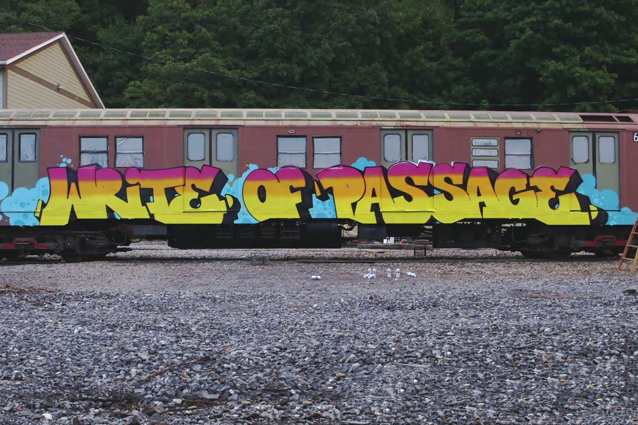 Write of Passage - Exploring American Graffiti