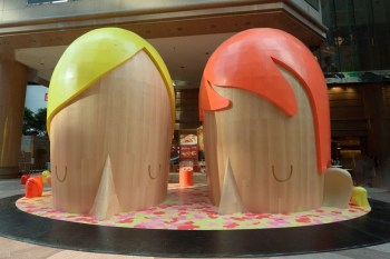 "Yoskay Yamamoto ""Submerged"" Exhibition @ Times Square Hong Kong"