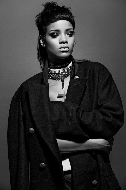 Rihanna features in '032c' Issue #25 Winter 2013/2014