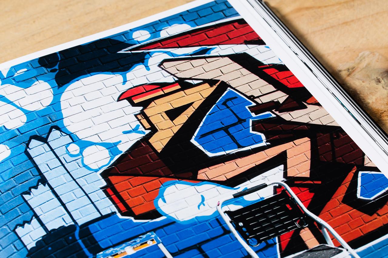 123klan respect love art book