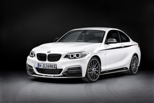 2014 BMW 2 Series Coupe Gets the M Performance Treatment
