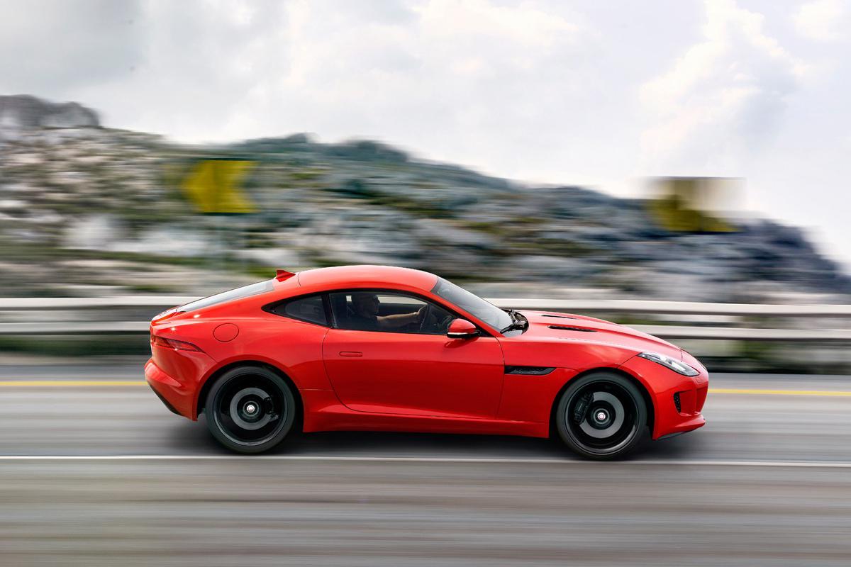 2015 Jaguar F-Type Coupe