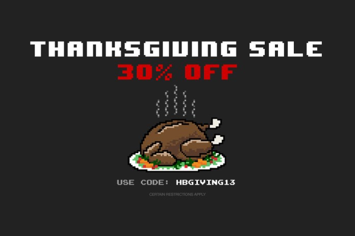 HYPEBEAST Store 2013 Thanksgiving Sale