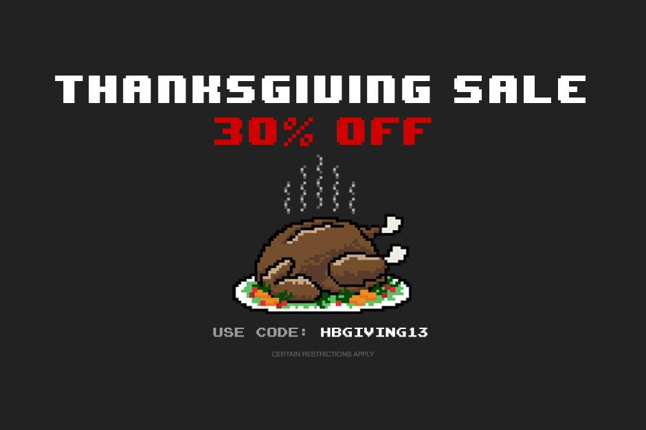 HYPEBEAST Store 2013 Thanksgiving Sale