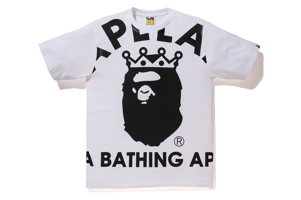 A Bathing Ape BAPELAND BOTTLE TEE