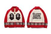 A Bathing Ape x Canadian Sweater Company 2013 Fall/Winter Cowichan Cardigan