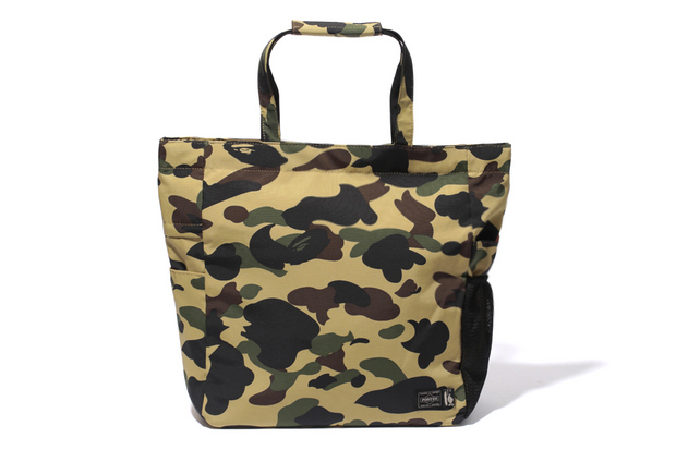 A Bathing Ape x Porter 1ST CAMO TOTE BAG