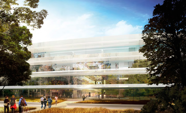 a closer look at apples forthcoming spaceship campus 2