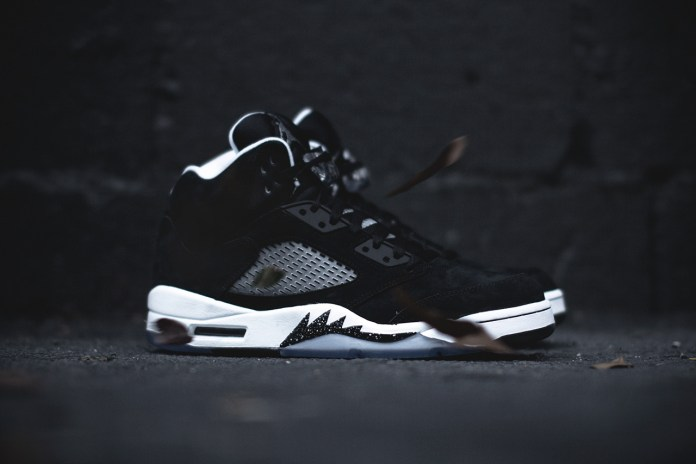 "A Closer Look at the Air Jordan 5 Retro ""Oreo"""