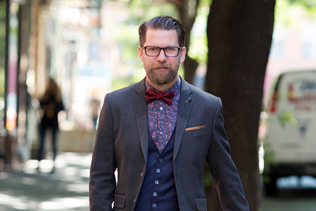 A Quick Q&A with Ted Baker London's Redge Blaker, Sartorial Protagonist of StreetWinker.com