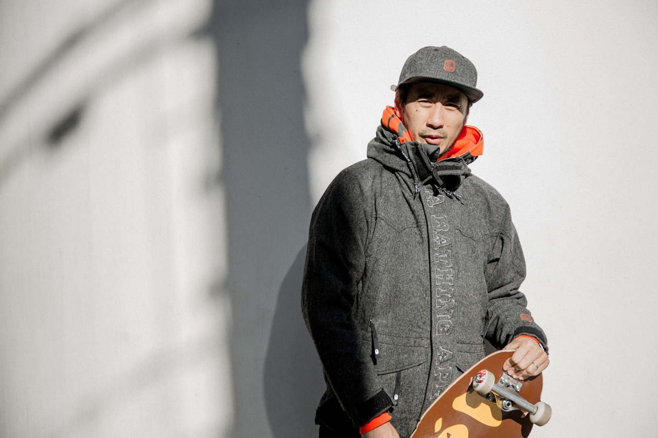 a skating ape 2013 fallwinter lookbook