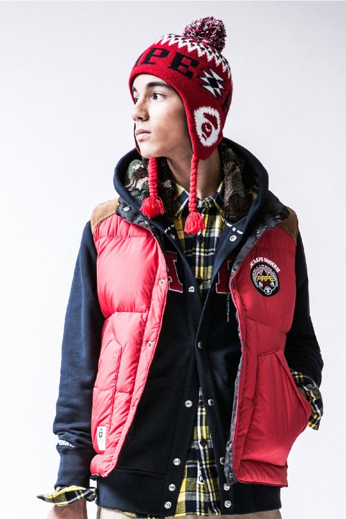 AAPE by A Bathing Ape 2013 Winter Lookbook