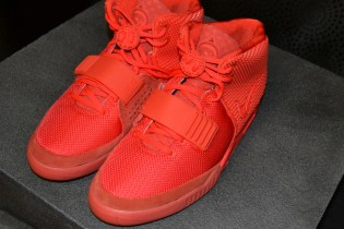 "An Up-Close Look at the Nike Air Yeezy 2 ""Red October"""