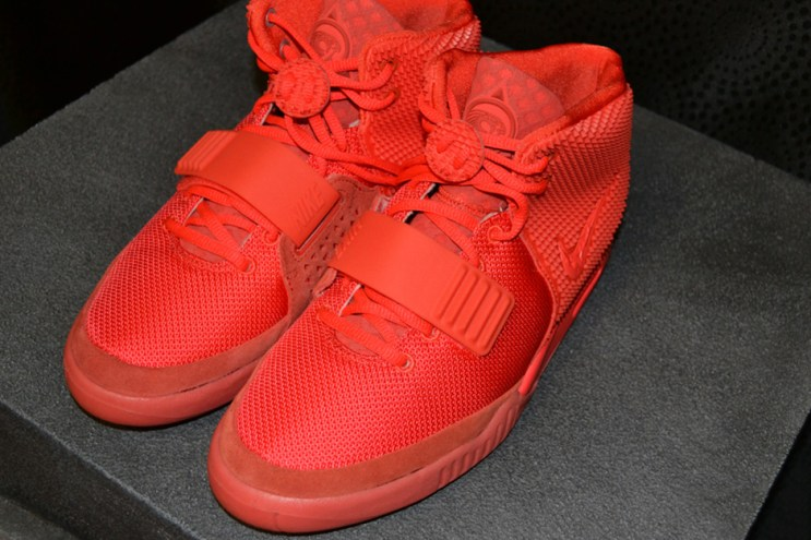 """An Up-Close Look at the Nike Air Yeezy 2 """"Red October"""""""