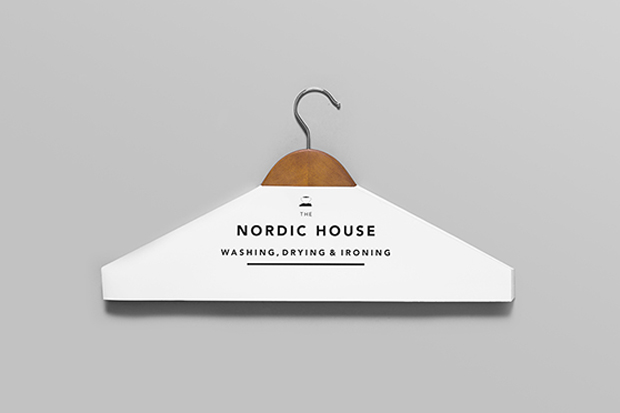 Anagrama Design Studio Rebrand's Nordic House's Dry Cleaning