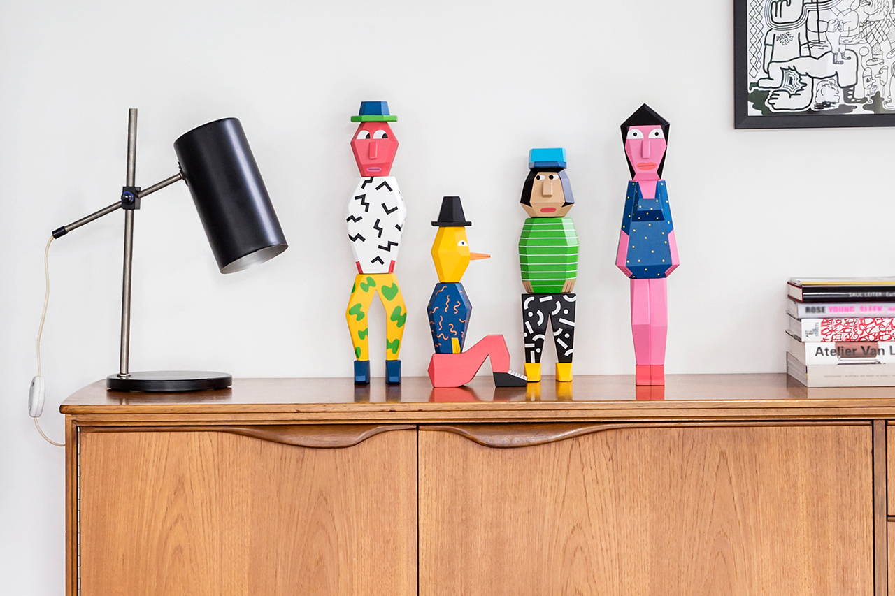 "Andy Rementer x Case Studyo ""People Blocks"" Sculptures"
