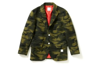 Applebum Wool Camo Tailored Jacket