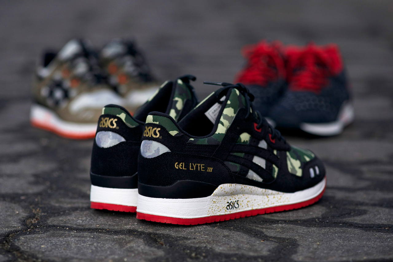 "BAIT x ASICS Gel Lyte III ""Basics Model-001 Vanquish"" Preview"