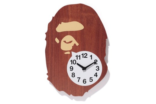 A Bathing Ape BAPE WALL CLOCK