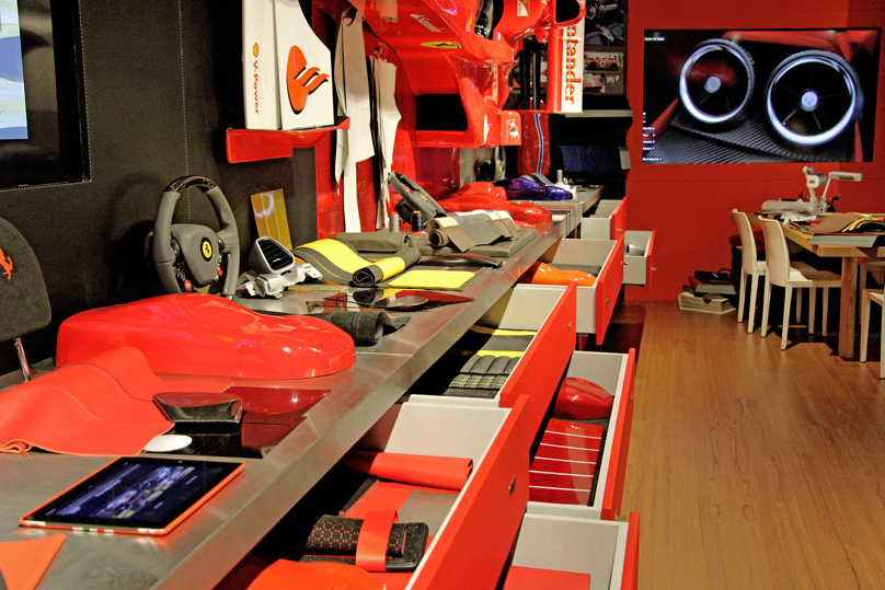 behind the scenes at ferraris tailor made facility