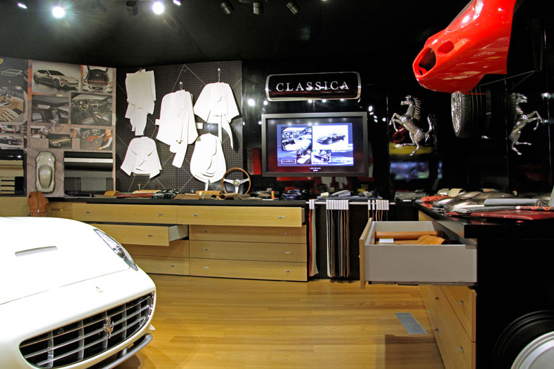 Behind the Scenes at Ferrari's Tailor Made Facility