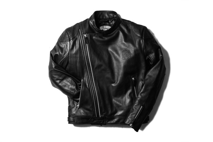 Billionaire Boys Club Wolfman Leather Moto Jacket