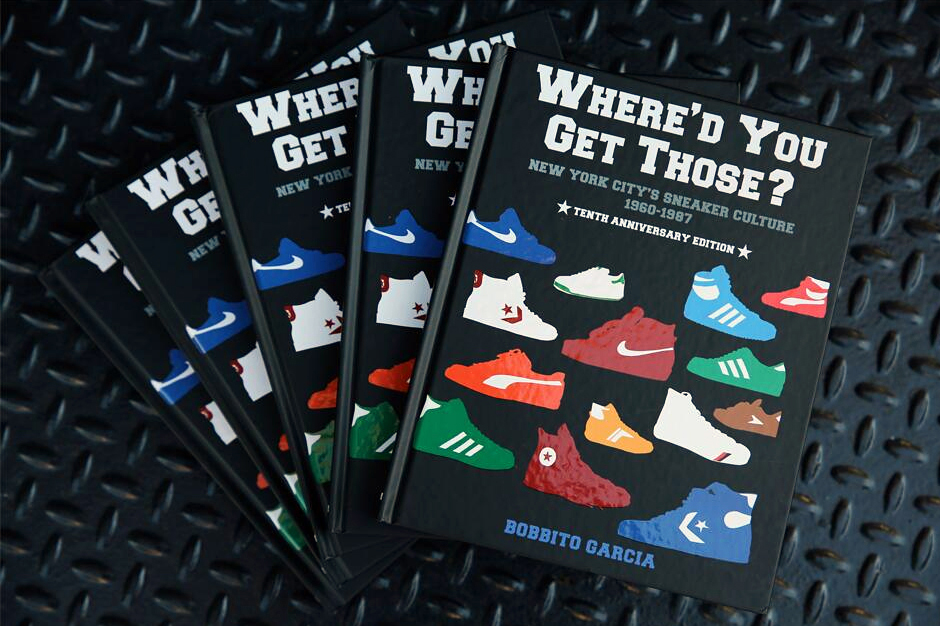Bobbito Garcia 'Where'd You Get Those' 10th Anniversary Book