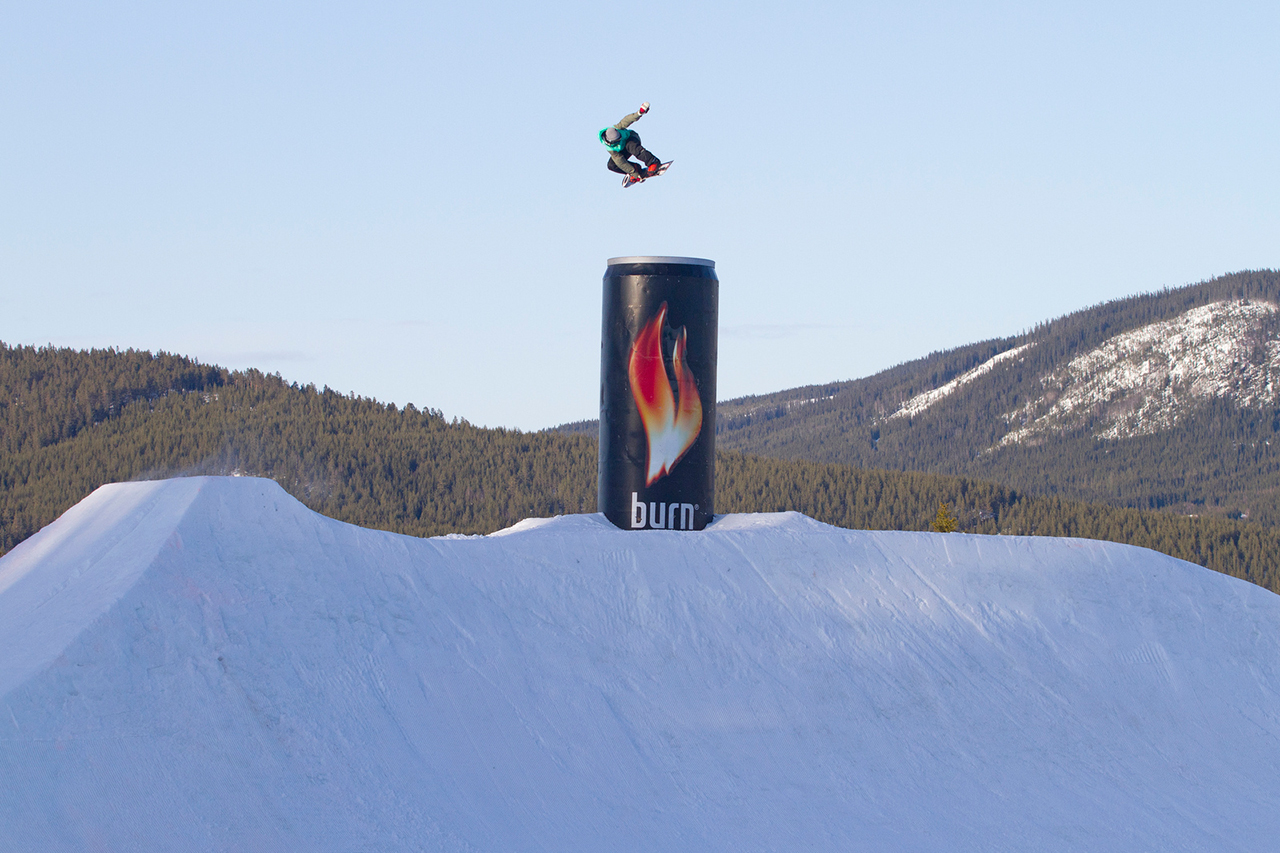 burns youtube channel provides visuals into the its athletes and the official energy drink of the sochi winter olympic games