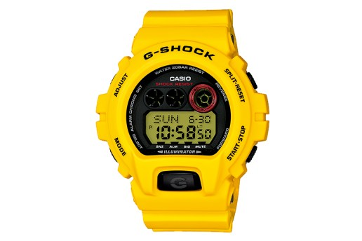"Casio G-Shock 30th Anniversary ""Lightning Yellow"" Collection"