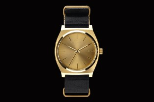 colette x Nixon 2013 Gold Time Teller Watch