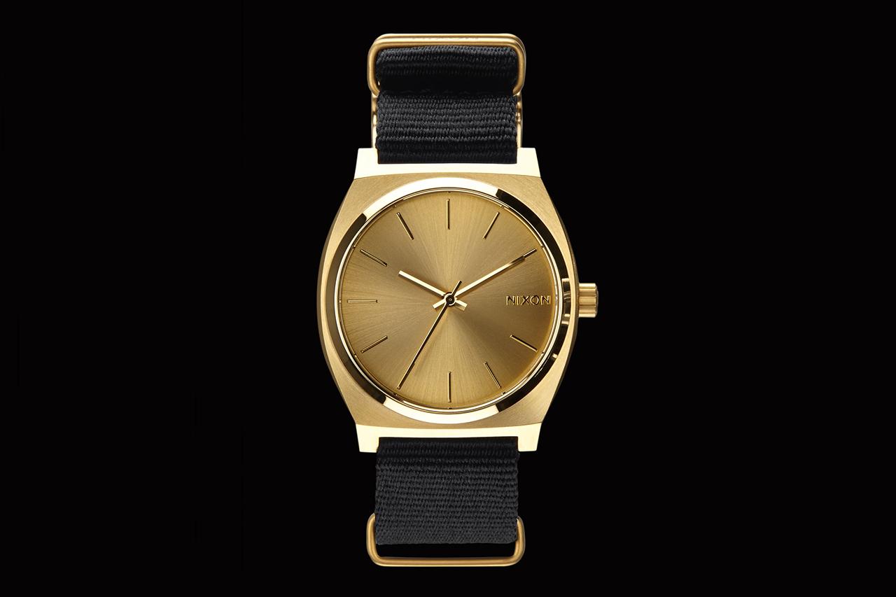 colette x Nixon 2013 Gold Time Teller Watch
