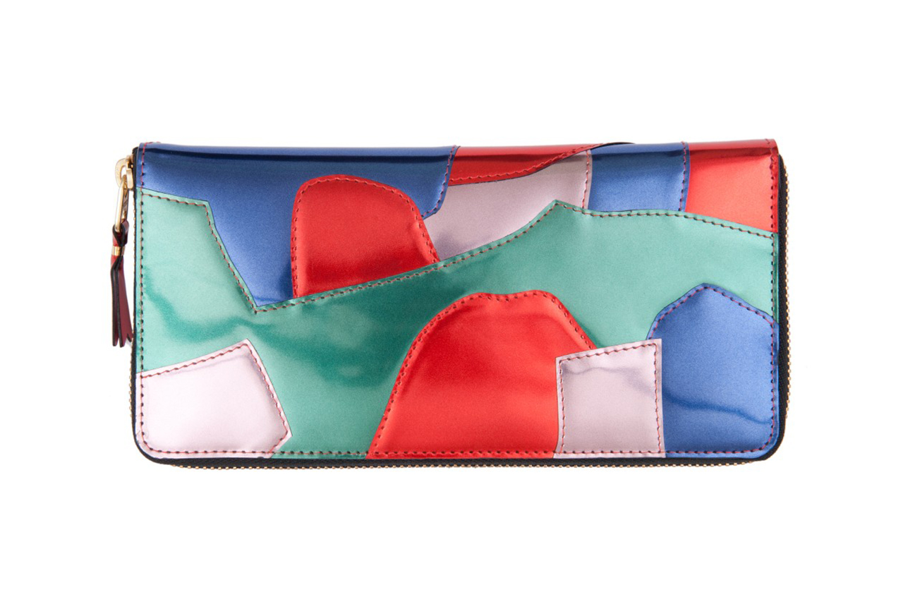 COMME des GARCONS 2013 Fall/Winter Patchwork Metal Wallet Collection