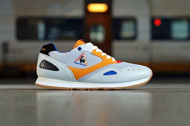 """Crooked Tongues x Le Coq Sportif Flash """"French Exchange"""""""