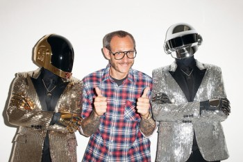 Daft Punk Visits Terry Richardson's Studio