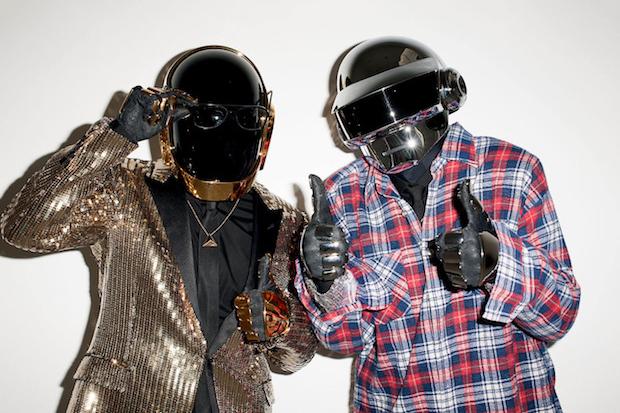 Daft Punk Visits Terry Richardson's Studio