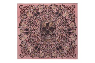 Damien Hirst & Alexander McQueen Celebrate the 10th Anniversary of the Skull Scarf