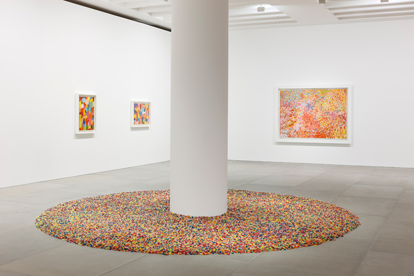 "Damien Hirst and Felix Gonzales-Torres ""Visual Candy"" Installation"