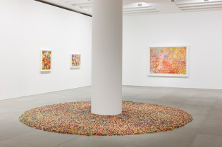 """Damien Hirst and Felix Gonzales-Torres """"Visual Candy"""" Installation"""